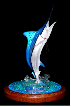 "24"" White Marlin Trophy"