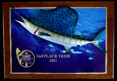 "20"" Sailfish Photo Plaque"