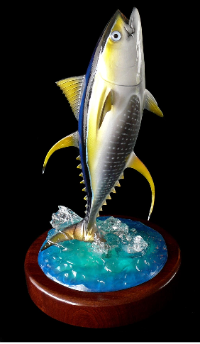 "16"" Yellowfin Tuna Trophy"