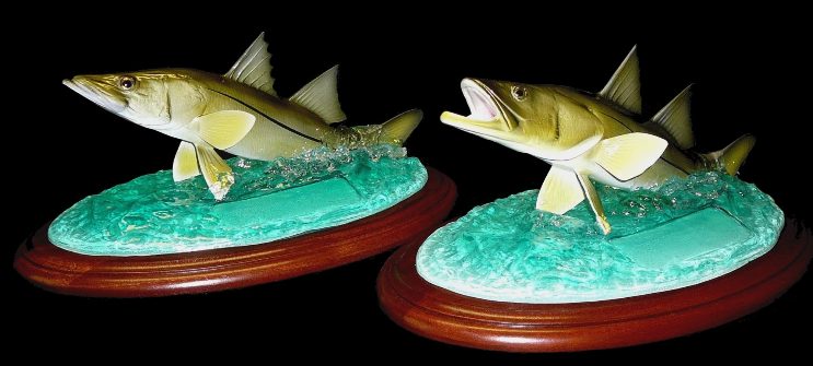 "14"" Snook Trophies"