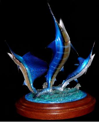 Atlantic Billfish Grand Slam Trophy